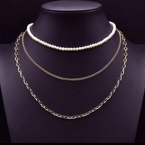 Jewelry - Pearl Necklace Set